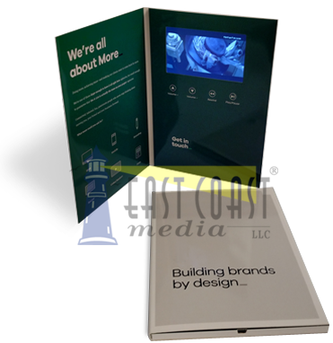 Digital Video Brochures, LCD brochure - Central New Jersey